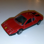 1:43 Burago Ferrari 512 BB BOXER  Diecast model (red) road car @SOLD@